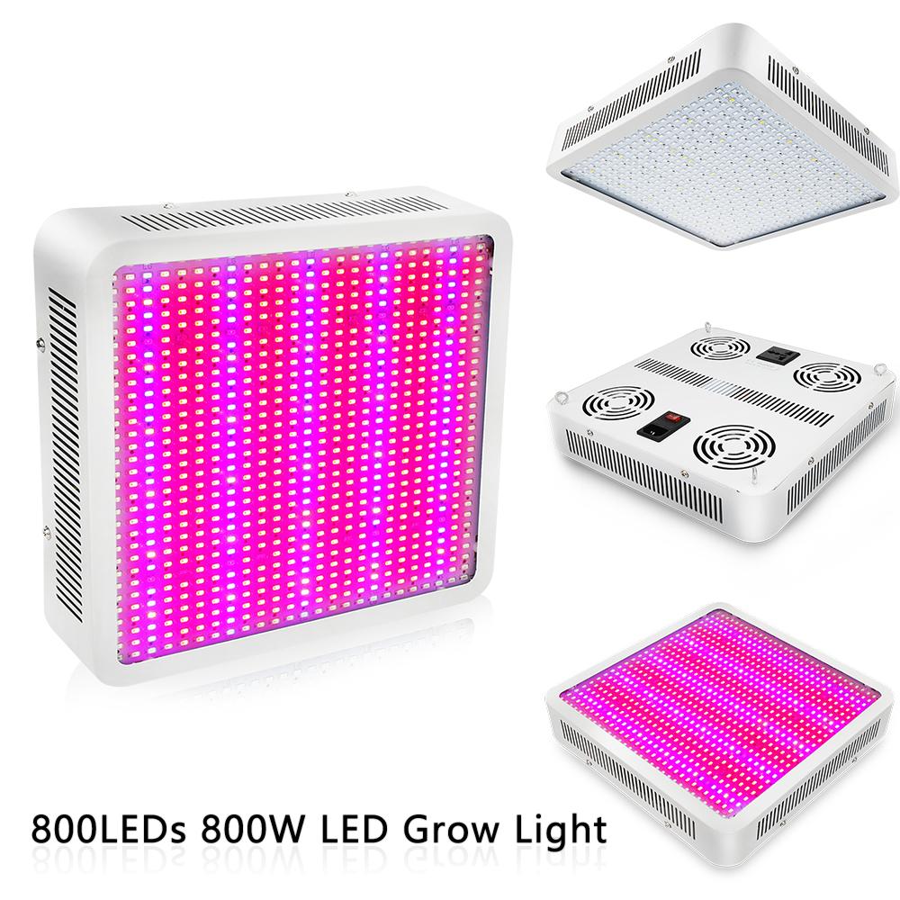 30W 50W 80W LED Grow Light Vollspektrum Pflanzenlampe UV IR   E27 Pflanzenlicht
