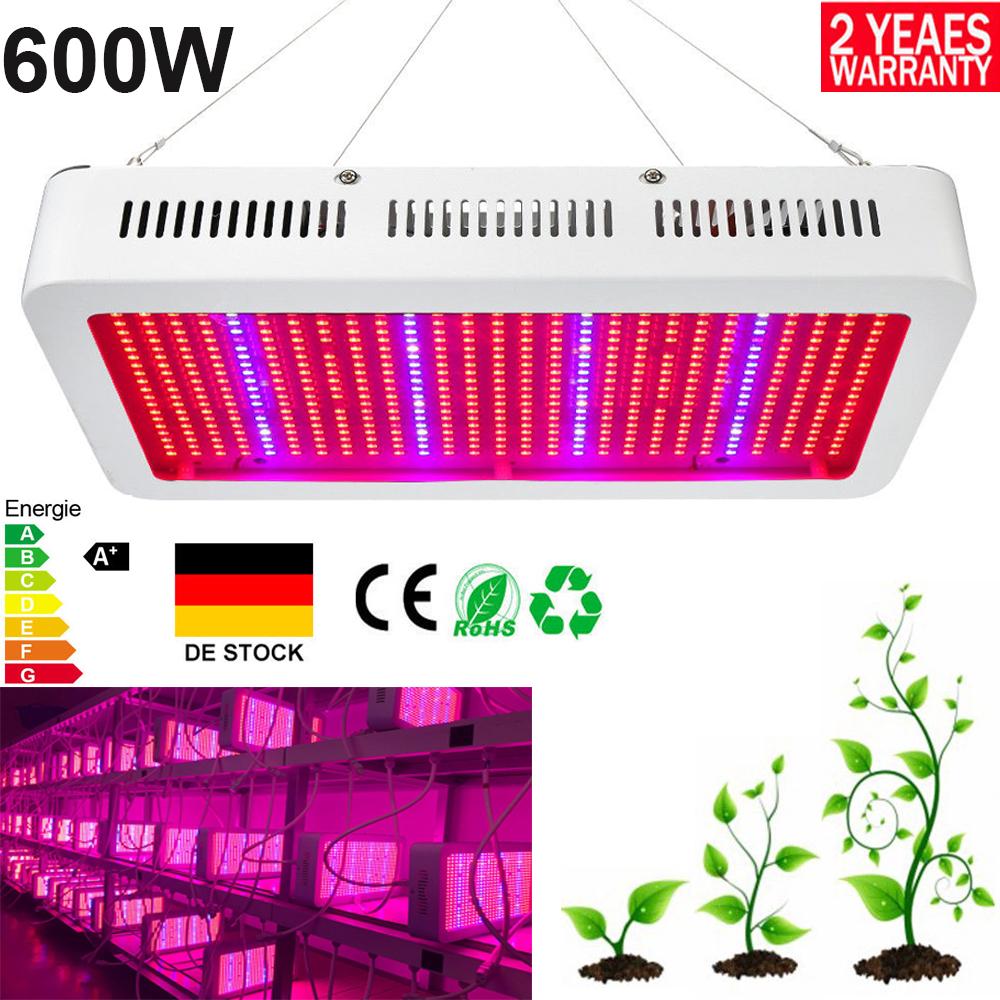 1000W LED Pflanzenleuchte VollSpektrum Pflanzenlampe Lampe für Pflanzenwachstum