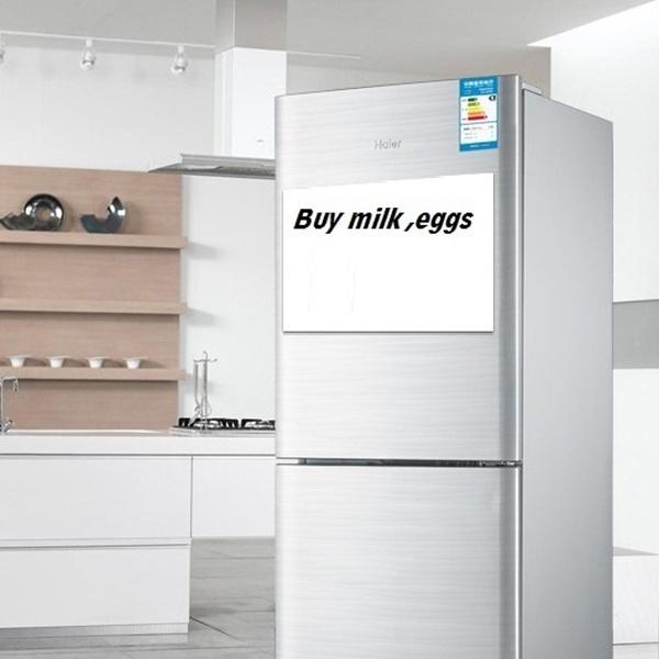 HOT Magnetic Whiteboard Fridge Kitchen Reminder Dry Erase Board White Boards