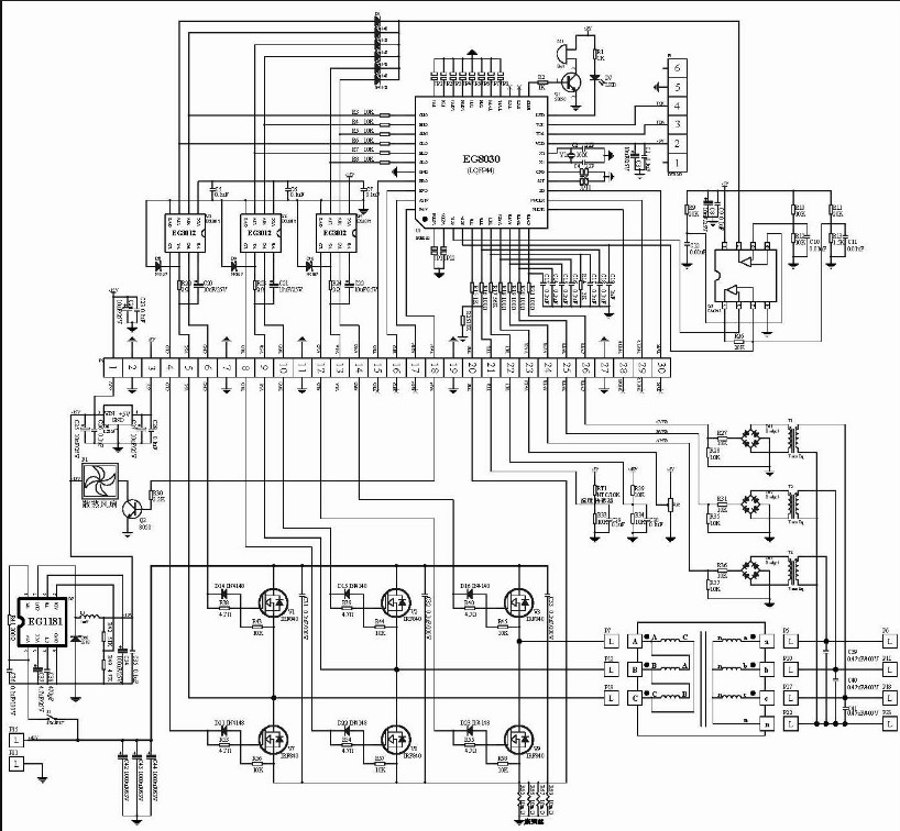 Inverter Charger Schematic
