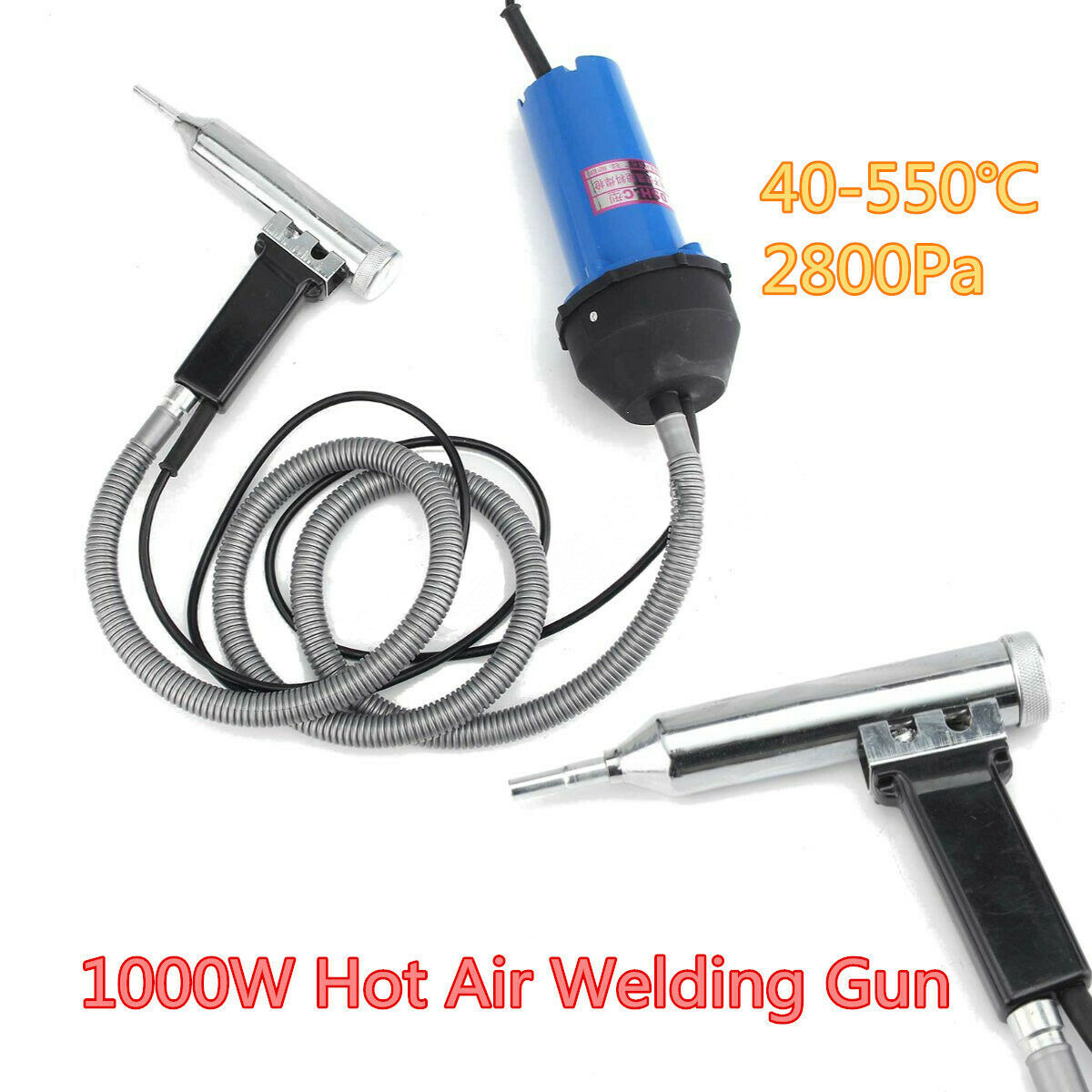 1000W Hot Air Welding Gun Pistol Plastic Welder Heat Gun Hot Gas Welder Kit