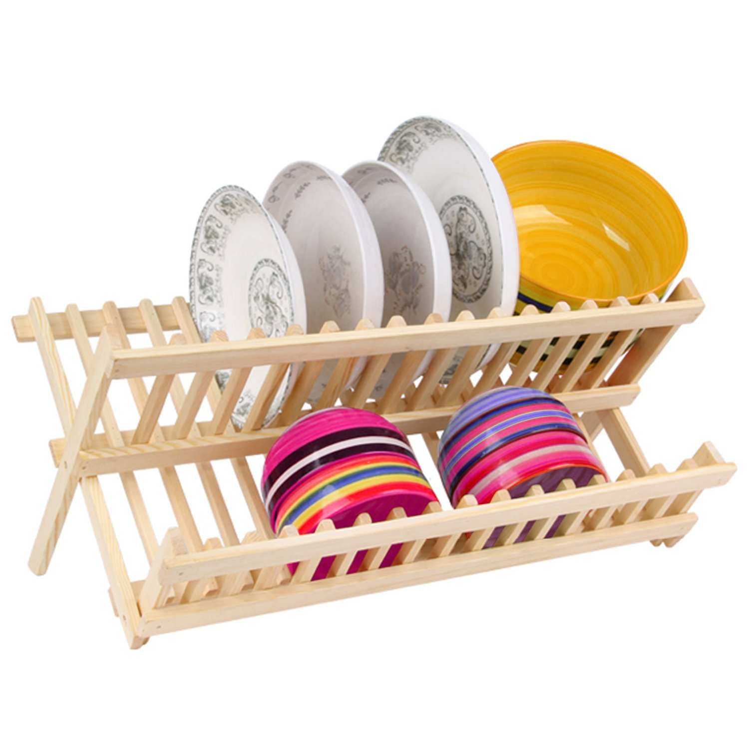 multilayer storage in double layer drain dishes draining plastic item kitchen chopsticks racks from rack shelves box cupboard tableware holders
