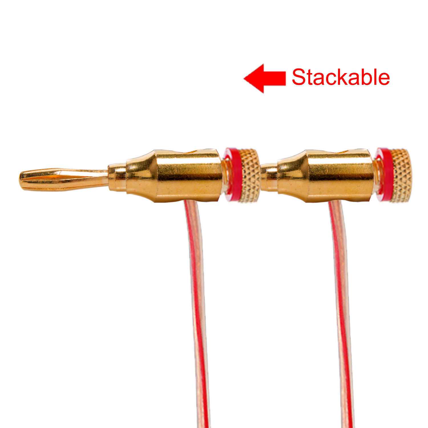 20pcs gold plated musical audio speaker cable wire connector 4mm banana plugs ebay. Black Bedroom Furniture Sets. Home Design Ideas