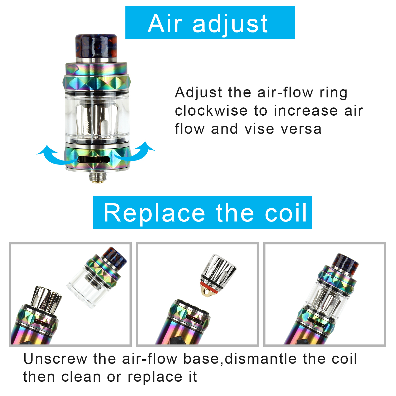 Electronic E Cig Cigarettes 100w 2600mah Box Mod Vape Pen Shisha To Clean The Lens Of A Green Laser Pointer Hacks Mods Circuitry Starter Kit
