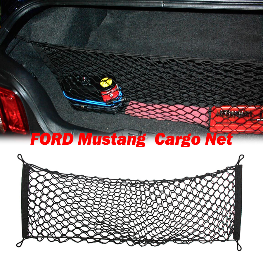 NEW Trunk Cargo Storage Nylon Net Envelope Style For 2015 2016 2017 FORD Mustang