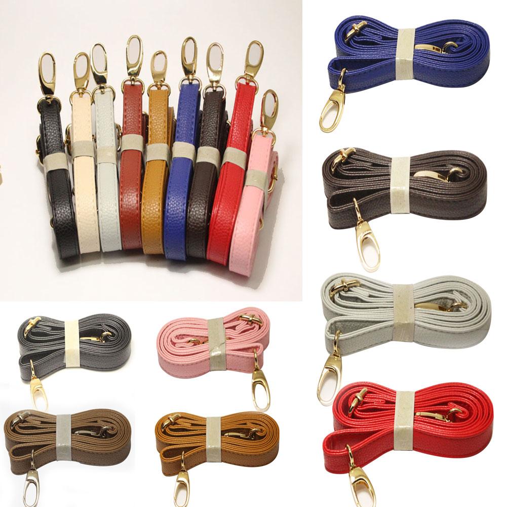 Leather Adjustable Bag Strap Shoulder Purse Replacement Handbag Cross Body 140cm