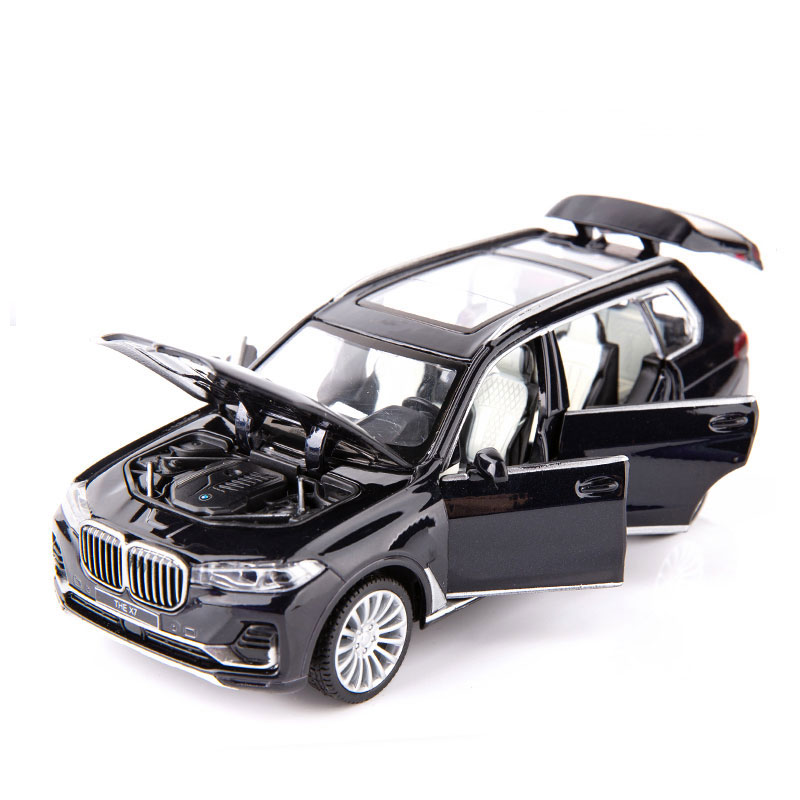 BMW X7 SUV 1:32 Scale Model Car Alloy Diecast Toy Vehicle Collection Kids Gift