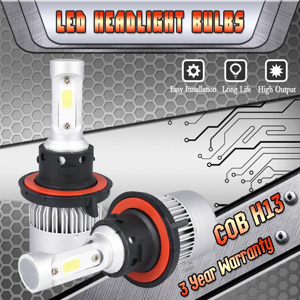 H13 Led Headlight Bulbs For Dodge Ram 1500 2500 3500 2006