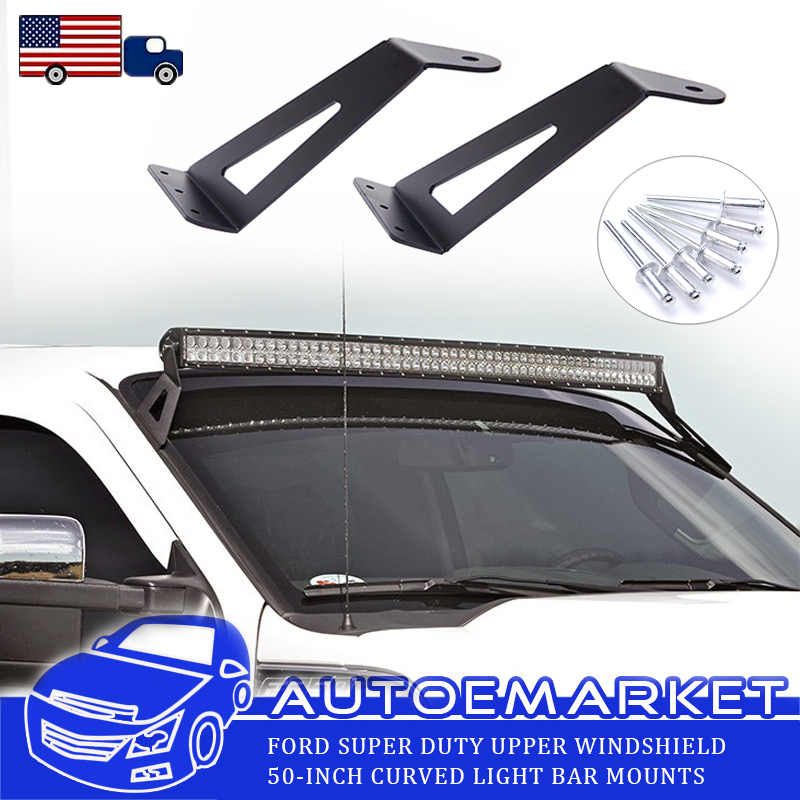 50inch led light bar roof mounting brackets for 99 15 ford f250f350 50inch led light bar roof mounting brackets for 99 15 ford f250f350 super duty aloadofball Image collections