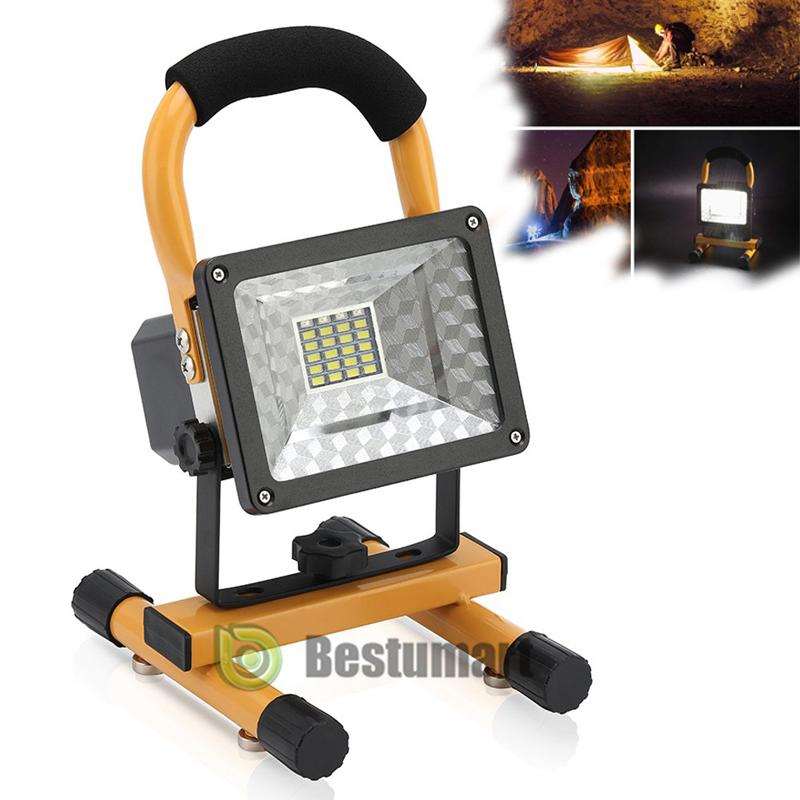 2*18650 BTY 47LED COB Flashlight Work Light Rechargeable Emergency Flood Lamp