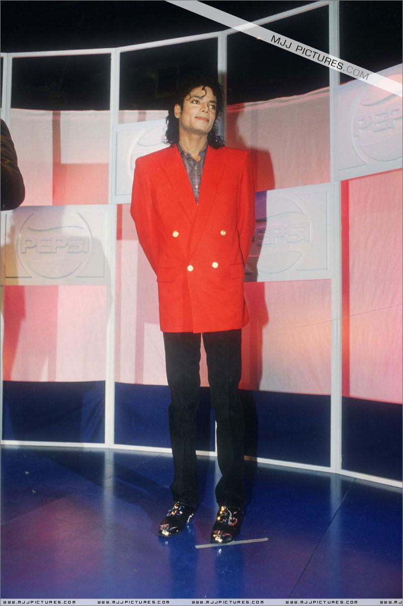 rare classic mj michael jackson red jacket informal suit
