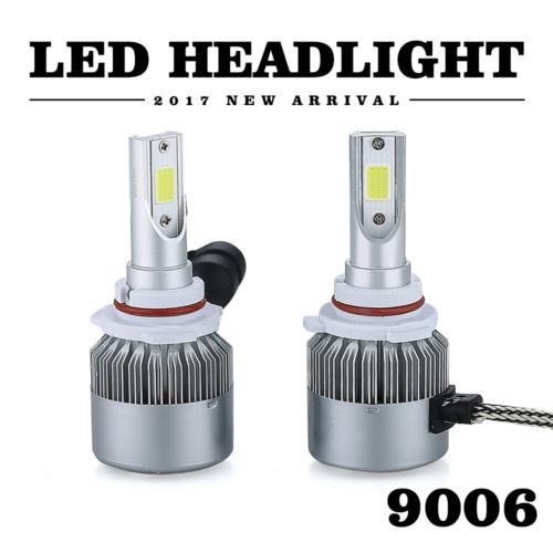 2018 Cree LED Headlight Fog Bulb Kit 9006 HB4 High Low Beam 1080W 6000K 162000LM