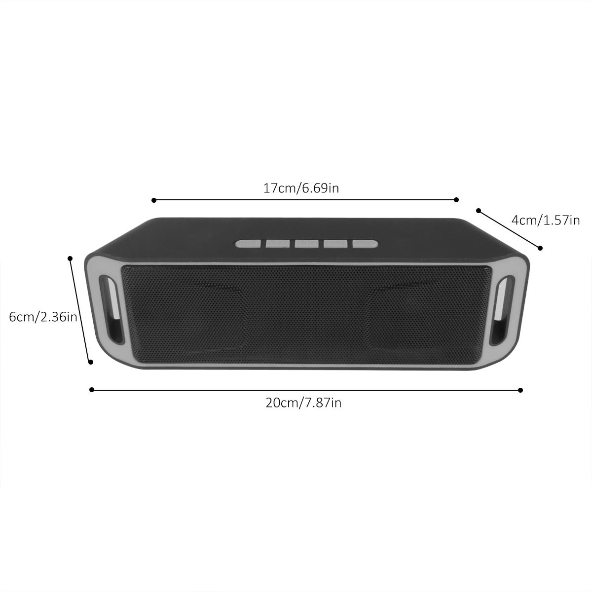 lautsprecher bluetooth musikbox dual hd bass sound mic. Black Bedroom Furniture Sets. Home Design Ideas