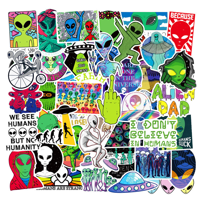 NEW 50 Skateboard Stickers bomb Vinyl Laptop Luggage Motorcycle Sticker Lot cool