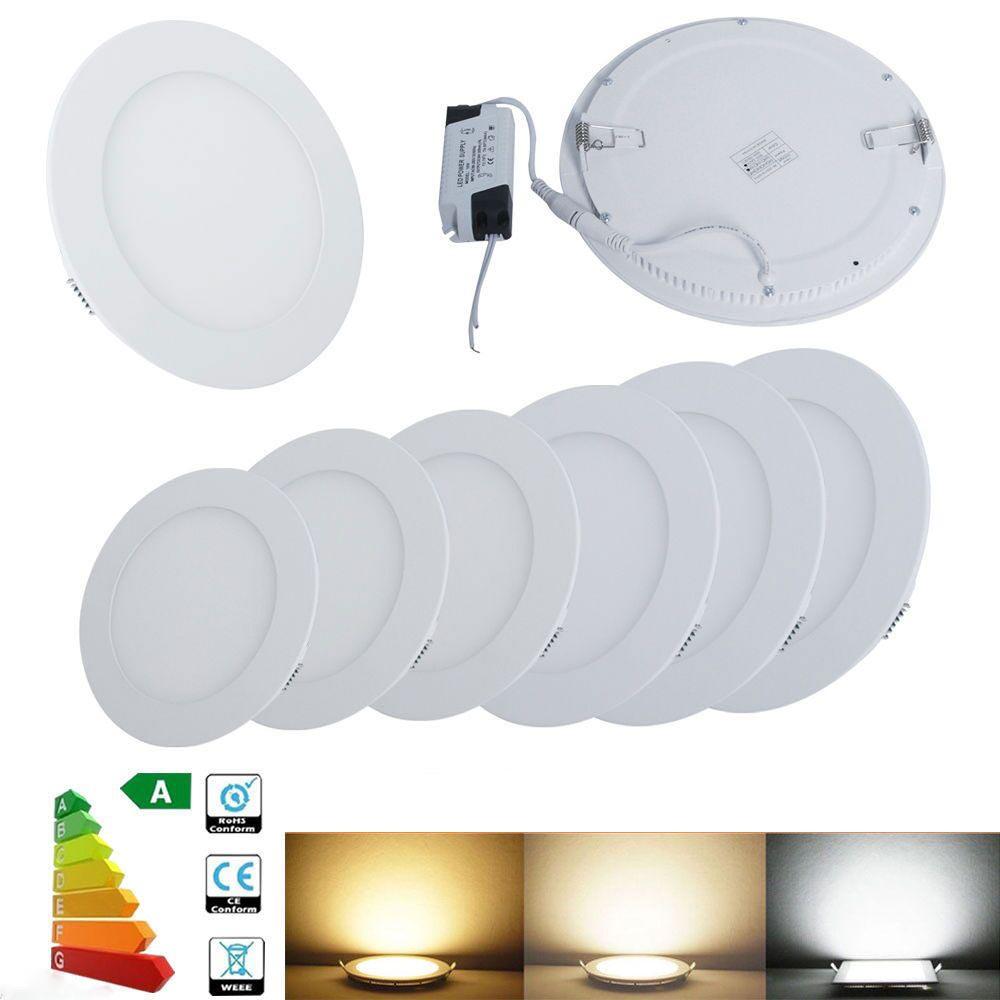 Ultraslim Led Panel Einbaustrahler Deckenleuchte Einbau Lampe Mit