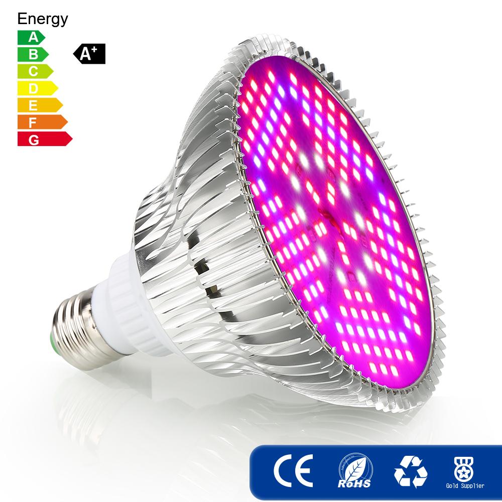 1/2/4PCS Vollspektrum 100W E27 LED Grow Light Lampe Panel Pflanze ...