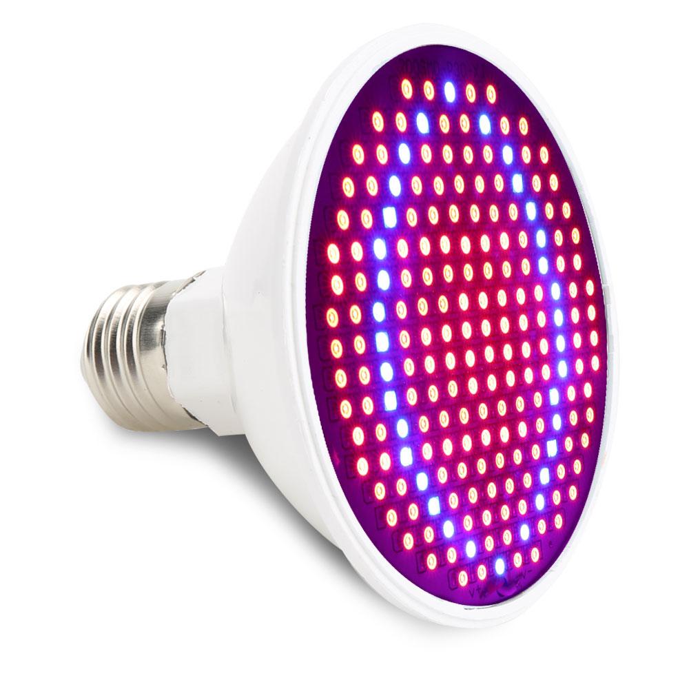 LED Pflanzenleuchte 20W Wachstumslampe Pflanzen Grow Lampe Pflanzenleuchte UV IR