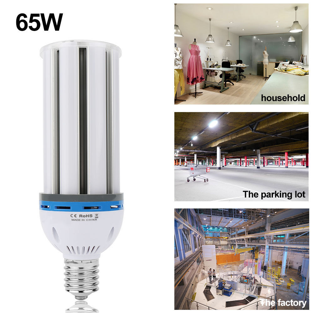 E40 E27 65w Led Corn Light Bulb White Warm 5630 Smd Equivalent To 200w Cfl Lamp Ebay