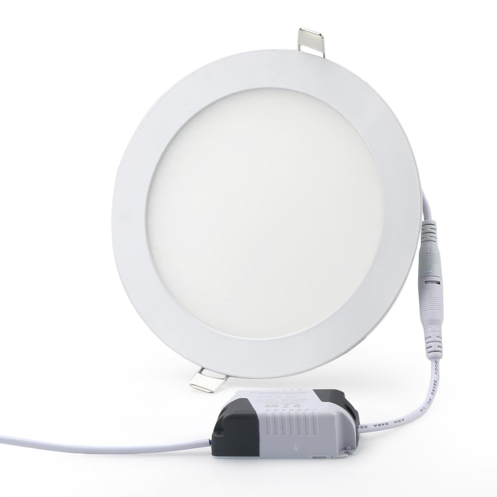 Trafo Dimmbar 6W-21W Ultraslim LED Panel Einbaustrahler Deckenleuchte Lampe