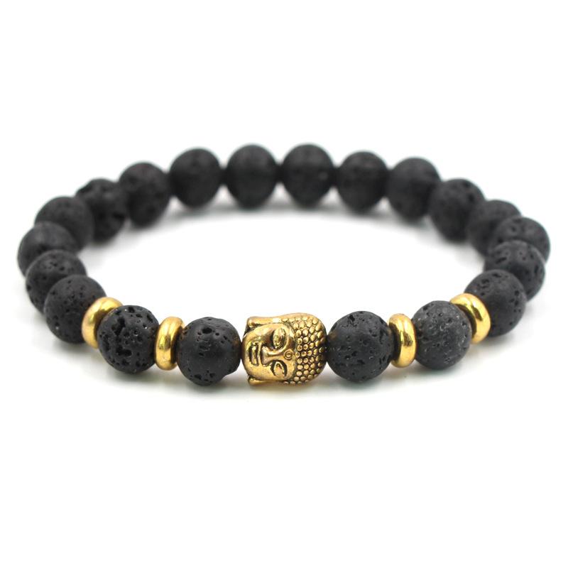 Image Is Loading Natural Stone Beads Bracelets Men Women Tiger Eye