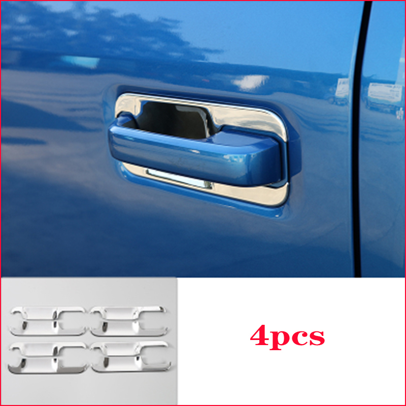 For 2015-2019 Ford F150 Chrome Door Handle Bowls