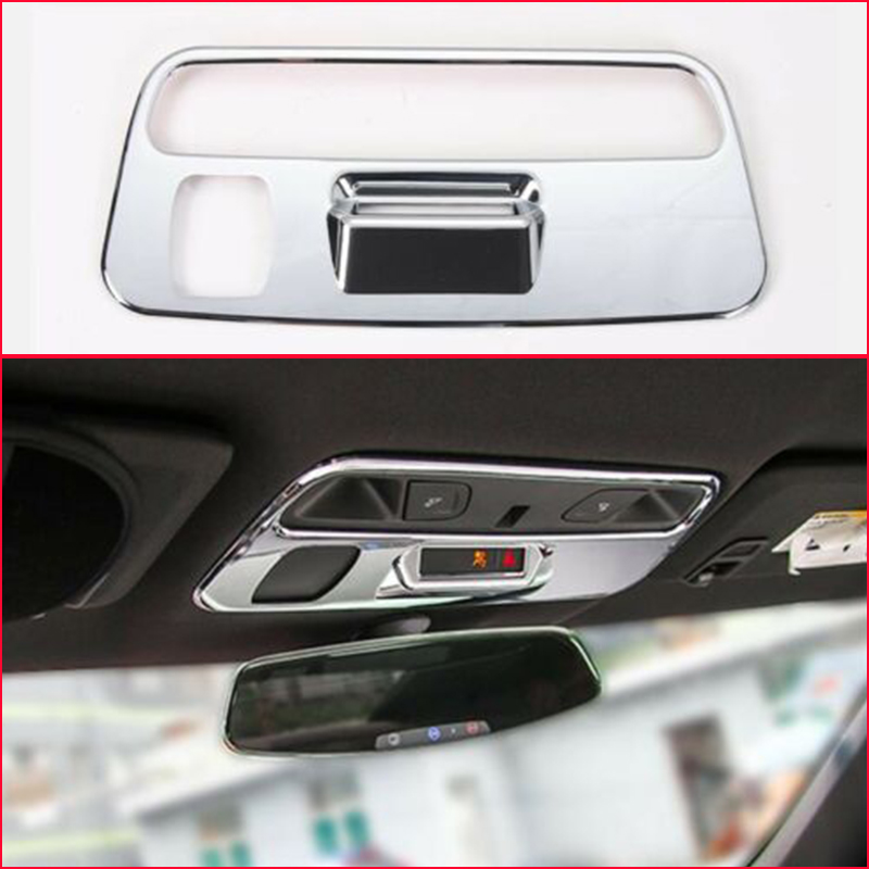 2x Chrome Interior Seat Button Frame Cover Trim Fit for Chevrolet Camaro 2016-17