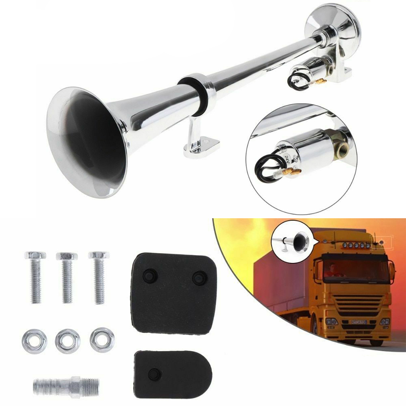 Car Boat Train Air Horn Single Loud Sound Trumpet Electric Horn Marine Truck