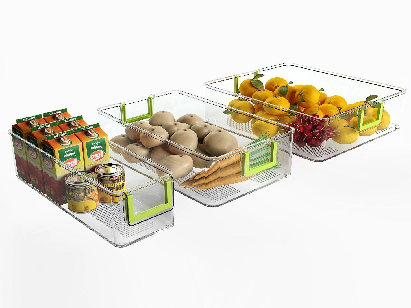 Kühlschrank Organizer : Er set küchen kühlschrank box aufbewahrungsbehälter kühlschrank