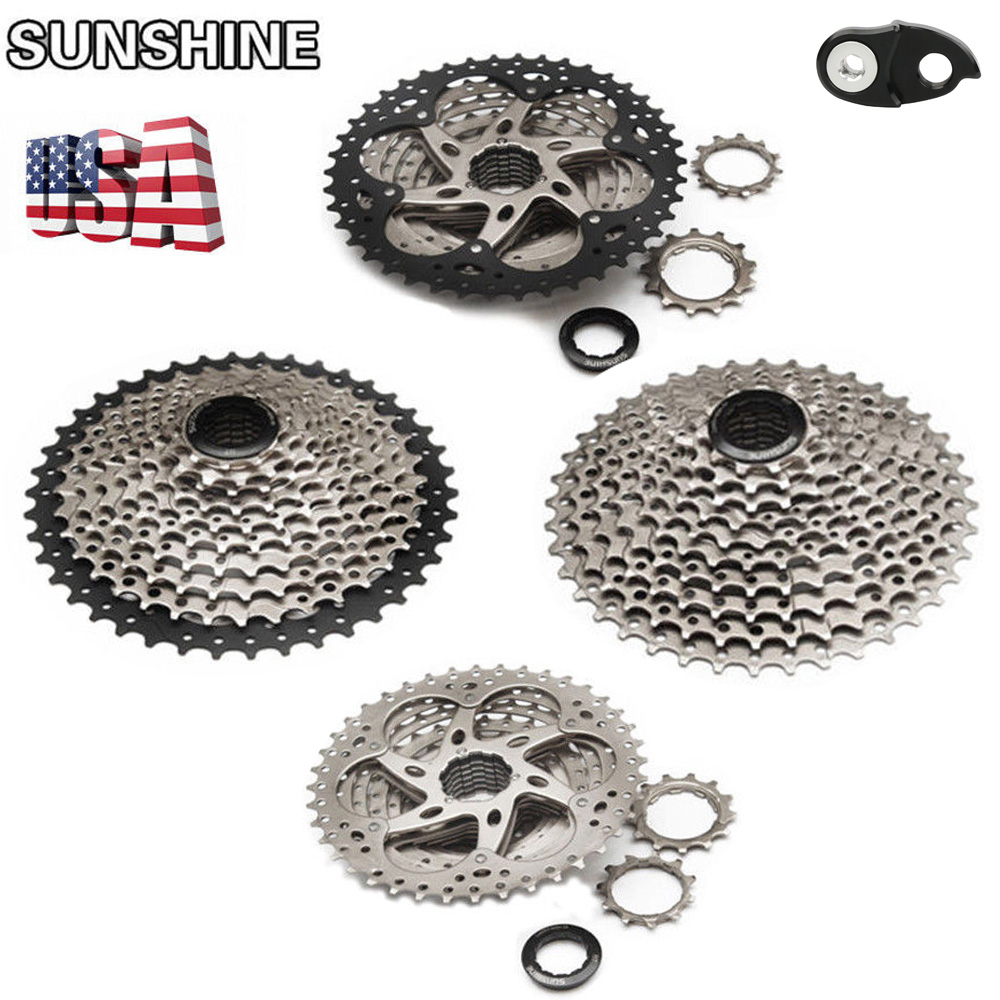 Sunshine 11-40//11-42T MTB Bike Bicycle Cassette Freewheel Flywheel Cogs 10 Speed