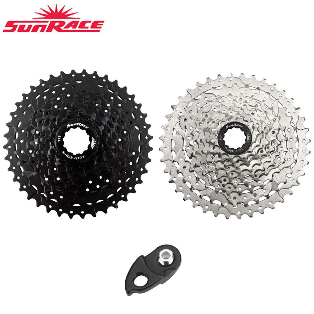 SunRace CSM680//990 Road MTB Cassette Sprocket 8//9 Speed 11-40T Bicycle Flywheel