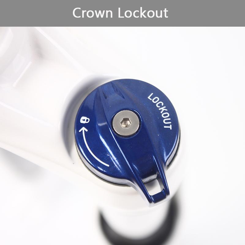 """RockShox 27.5/"""" MTB Bike Suspension Fork XC30 Crown Coil Spring Disc 9mm QR Forks"""