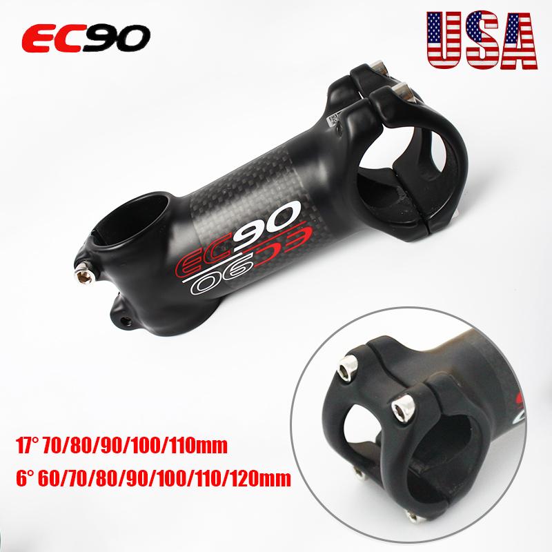 80//90//100//110//120mm 31.8x28.6mm Bike ±17° Handlebar Stem UNO MTB Road Bicycle