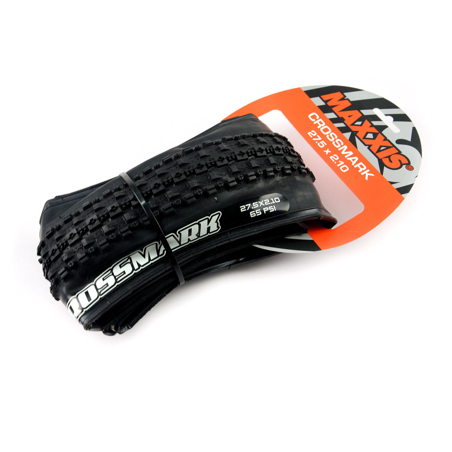 "MAXXIS CROSSMARK MTB Bike Tire M309P Bicycle Foldable Tyre 26/""//27.5/""*1.95//2.1in"