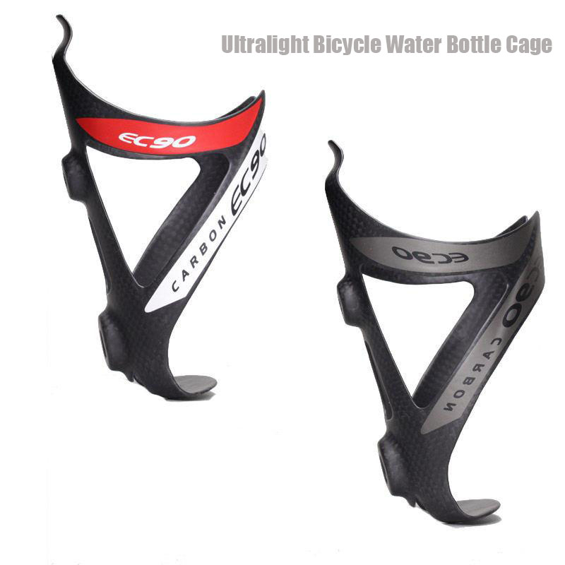 MTB Bike Water Bottle Cage Carbon Adjustable Bicycle Water Cup Holder Ultralight