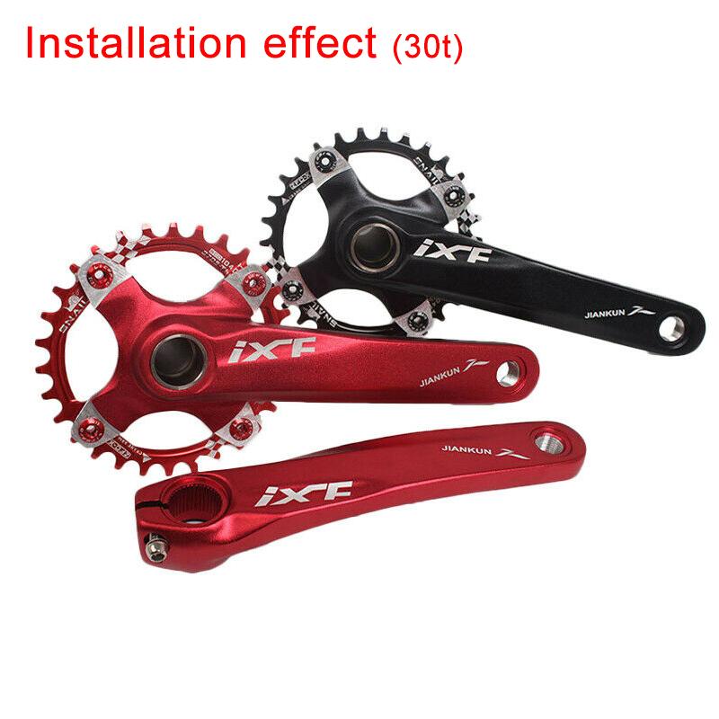 Ixf170mm BCD 104mm Aluminum MTB Road Bike Bicycle Crankset Inner Bearing