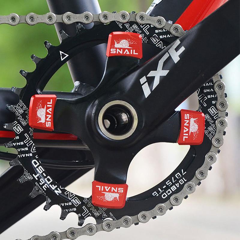 BB Round Oval Chainset UK 104bcd MTB Bike Crankset 170mm Crank Chainring
