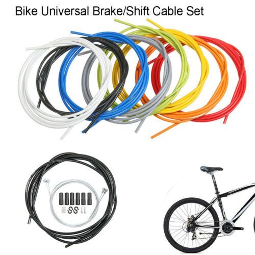 "New MTB Road BMX Bike Universal Brake Cable 65/"" w// Housing Black 60/"" 1 Piece"