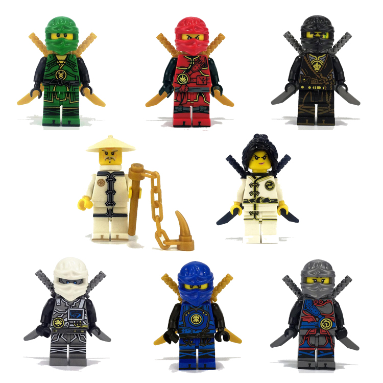 It is a photo of Ambitious Pictures of Ninjago Characters