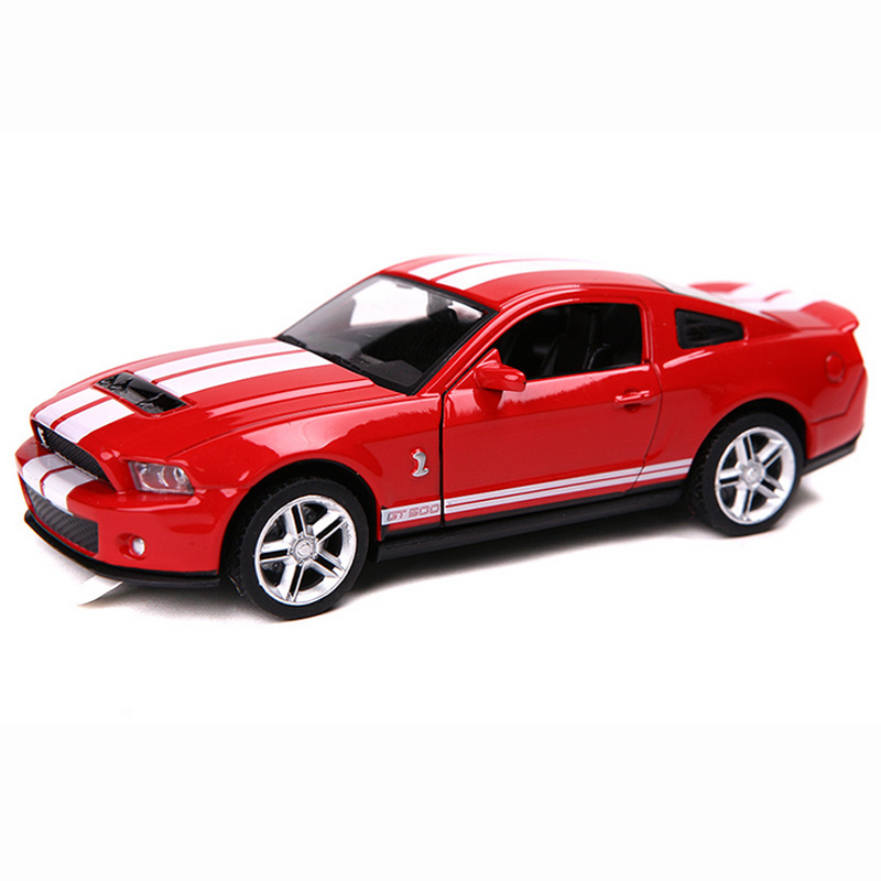 FORD MUSTANG GT 2012 ALLOY DIECAST PULL BACK CAR MODEL 1:32 CARS ...