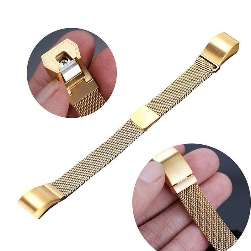 Stainless-Steel-Replacement-Spare-Band-Strap-for-Fitbit-Alta-Alta-HR thumbnail 30