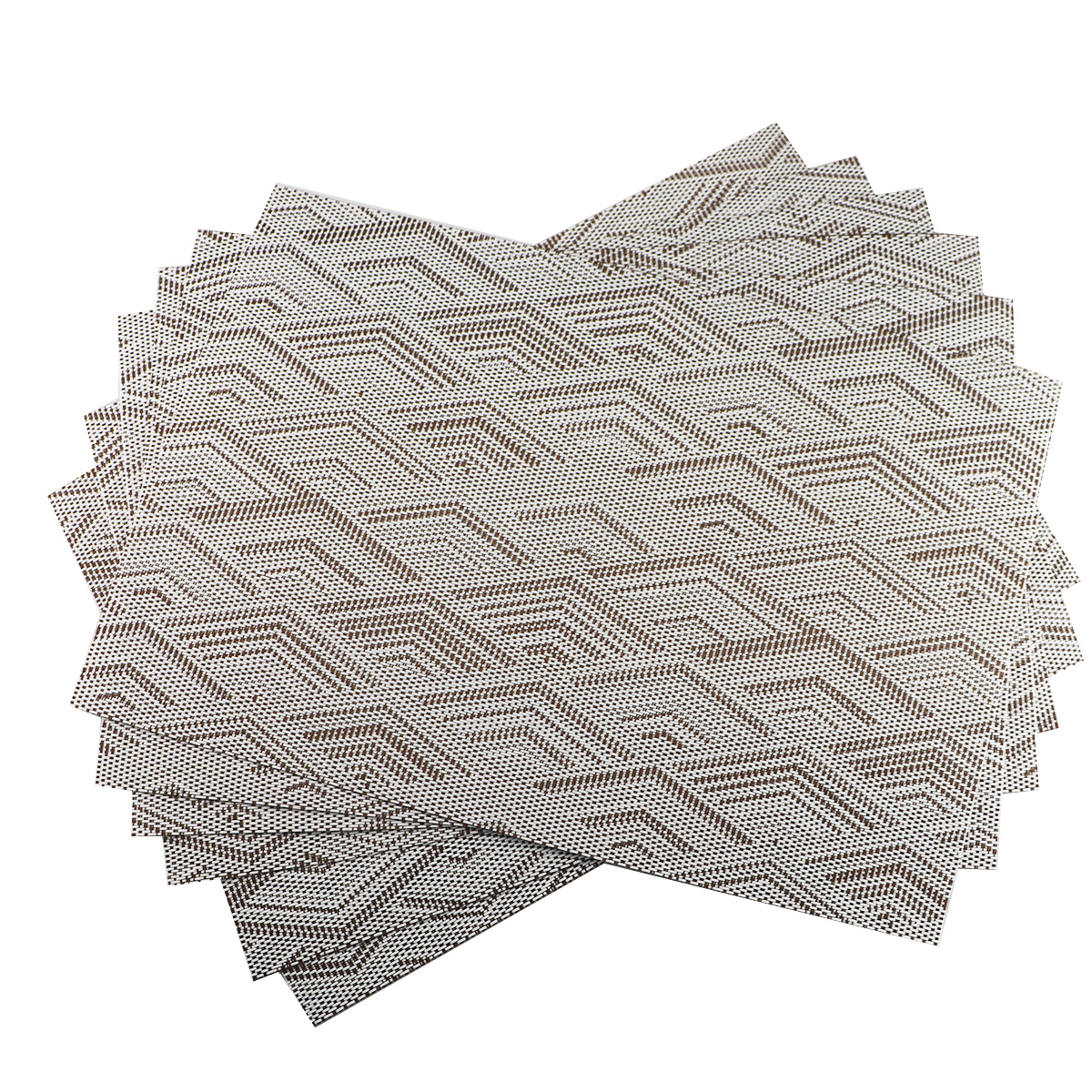 Details About Coffee Table Placemats Set Of 6 Non Slip Washable Pvc Heat Resistant Mats
