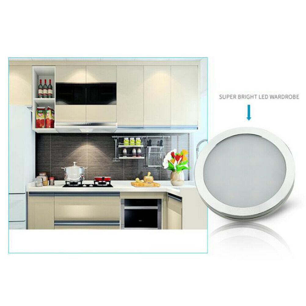 Details zu 4tlg LED Kabinett Licht Kit Küchenregal Beleuchtung  Schrankleuchte Cabinet light