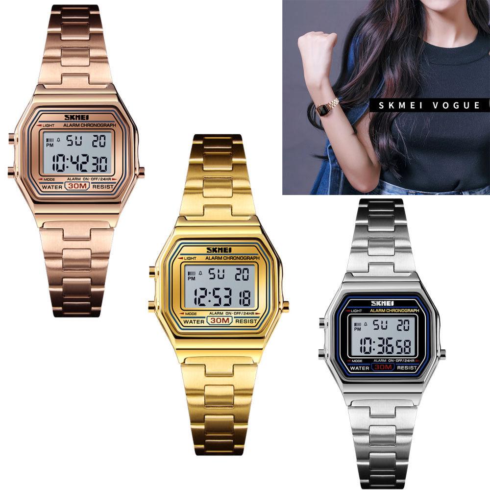SKMEI Luxuxy Men's Smart Watch Bluetooth Digital Sports Wrist Watch Waterproof