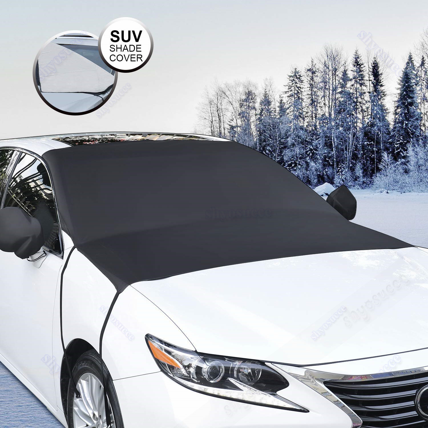 Auto Windshield Cover Snow and Ice for Car Frost Guard Winter Protector