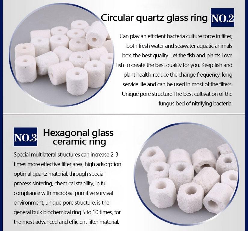 Premier Bio Ceramic Rings Media for Aquarium Fish Pond Canister Filter 500-1000g