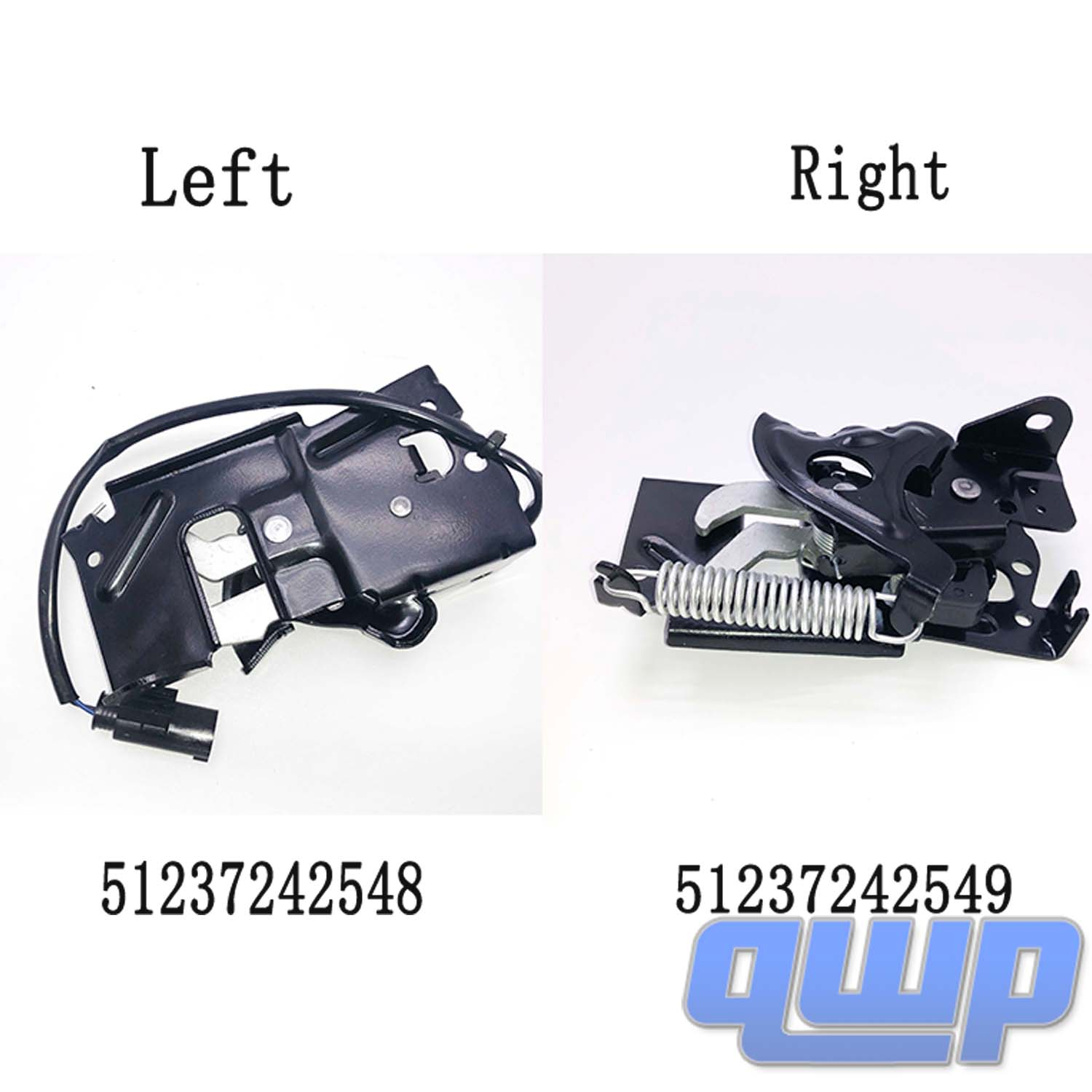 Hood Lock Latch RIGHT for BMW 228 320 328 335 340 428 435 M235 M3 M4 51237242549