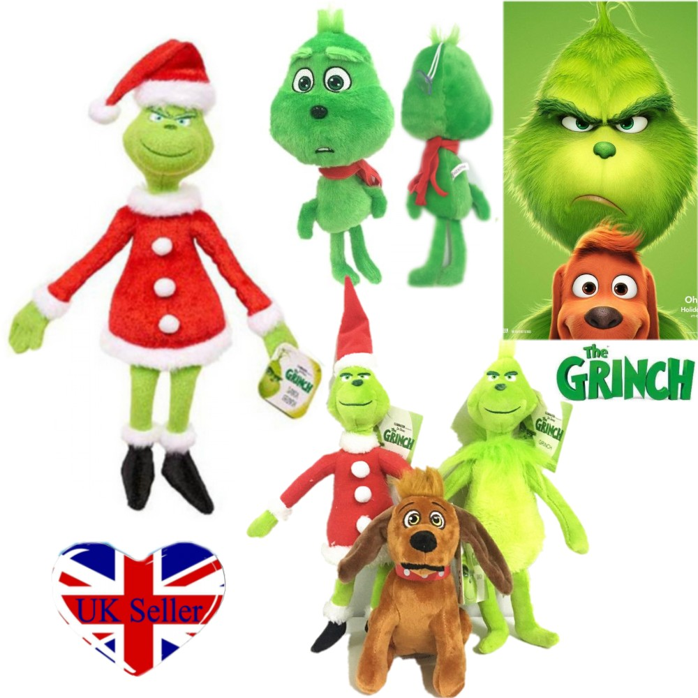 """How the Grinch Stole Christmas Plush Toy Stuffed Doll 13/"""" Christmas Gift for Kid"""