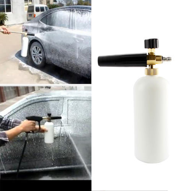 1 4 Quot Adjustable Snow Foam Lance Cannon Washer Bottle