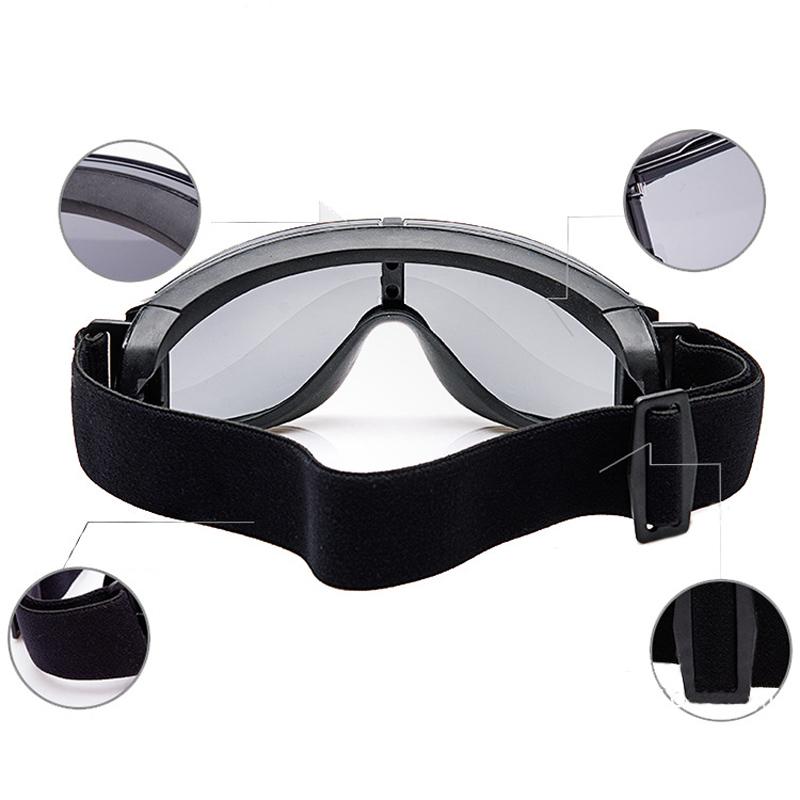 verstellbar milit r taktisch brille windfest sonnenbrille armee paintball brille ebay. Black Bedroom Furniture Sets. Home Design Ideas