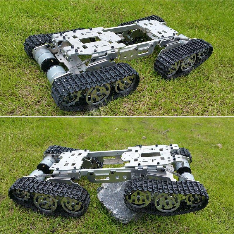2017-CNC-Metal-Robot-ATV-PISTE-reservoir-Chassis-SUSPENSION-obstacle-Crossing